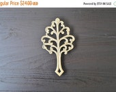 ON SALE Brass Tree Trivet