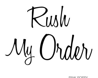 Rush My Order - Add to Cart with Desired Listing