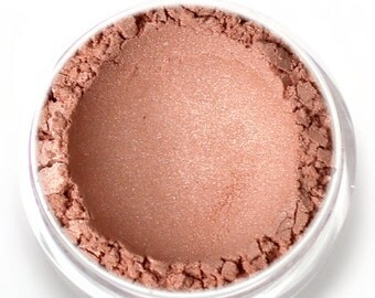 "Stardust Highlighting Powder - ""Solstice"" (peachy rose gold highlight, Net Wt 3g jar) - Vegan Makeup Highlighter"