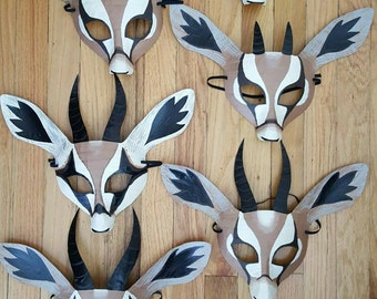 Gazelle mask, gazelle costume