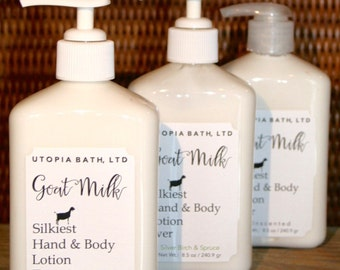 Goat Milk Hand & Body Lotion