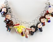 Doctor Who 50th anniversary bracelet featuring all Doctors