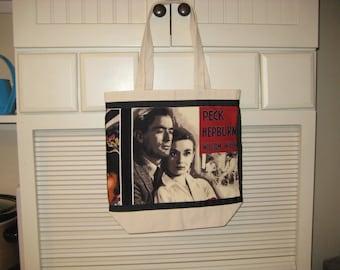 Audrey Hepburn Bag, Nostalgic Hollywood Reusable Grocery Tote, My Fair Lady