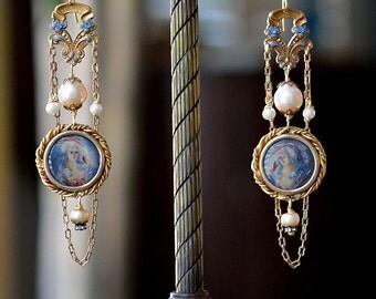 Marie Antoinette Earrings/ Vintage Earrings
