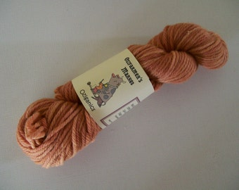 Oziganics 50gm certified organic merino 8ply/DK/worsted knitting yarn - Jhia