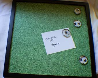 Soccer Themed Magnetic Memo Board