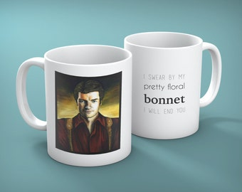 Mug of Captain Malcolm Reynolds from Firefly