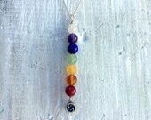 Feel Balanced. Chakra Totem Necklace - Sterling Silver Yin Yang Charm - ZEN Jewelry