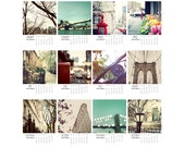2016 Calendar, 5 x 7, 4 x 6, 2016 Desk calendar, NYC calendar, New York city calendar, new york print, office desk calendar, nyc print