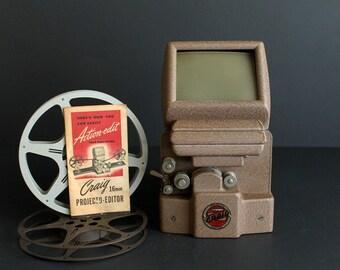 Vintage Craig 16mm Projecto Editor Home Movie Film Kalart