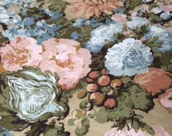 Floral Decorator Fabric yards and yards and yards....