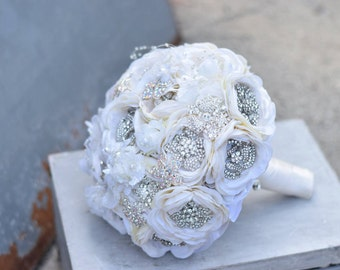 Garden Flower Brooch Bouquet