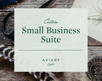 Small Business Suite / Custom Brand Design for Small Business by Aviary Creative