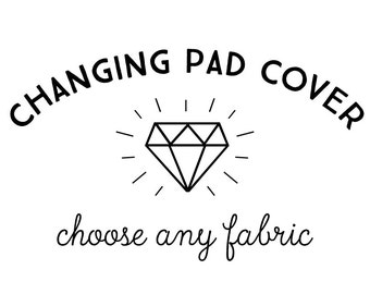 Changing Pad Cover in Any Print. On 100% Cotton or Minky. Changing Pad Cover. Change Pad. Changing Pad. Minky Changing Pad Cover.