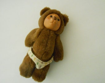 Raikes baby bear funny face