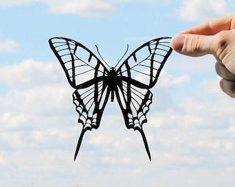 Butterfly - Handmade Original Paper Cut Home Decor Gift - UNFRAMED