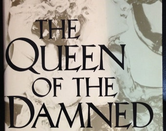 Book, The Queen of the Damned by Anne Rice.