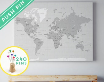 large world map canvas