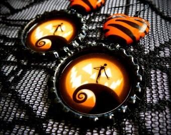 The Pumpkin King earrings