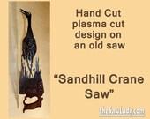 Sandhill Crane Design Han...