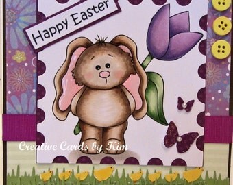 Happy Easter Card handmade