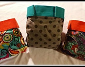 All in Two AI2 Diaper Cover Pattern (similar to gDiaper) - Large