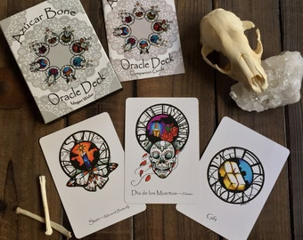 Azúcar Bone Oracle Deck with Companion Book - First Edition
