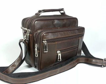100% genuine LEATHER / lambskin MAN hand bag, Quality products, reasonable prices, your choice color.