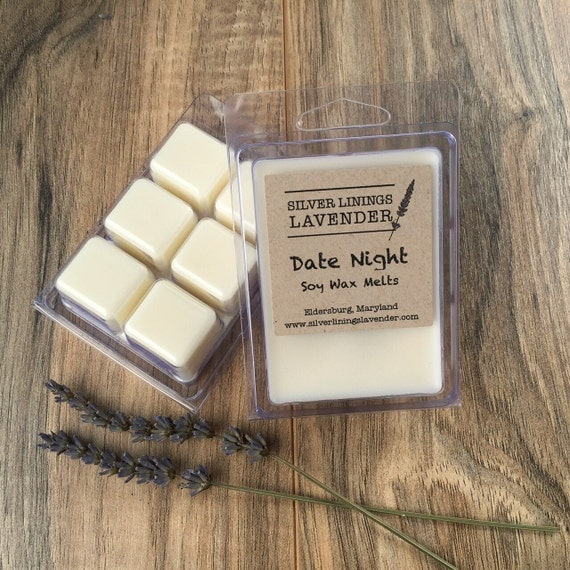 Romantic Date Night Soy Wax Melts / Mood Enhancing / Natural Aphrodisiac / Aromatherapy Soy Wax Melts / Gift for Him / Smells Amazing