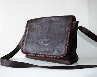 Vintage Genuine Leather EXCELLENT Shoulder Bag