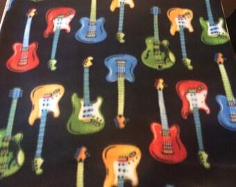 Electric Guitars Snuggie, Fleece Blanket w Sleeves