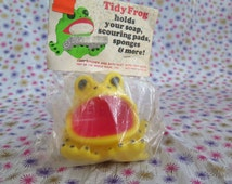 Edward Mobley, Tidy Frog, Superior Pet Products, in original packaging, 1971