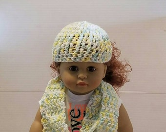 Pastel Hat and Scarf