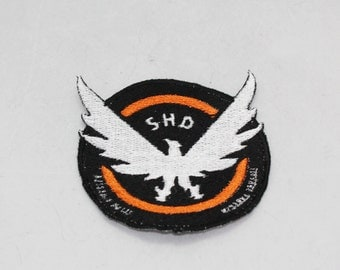 Fully Embroidered 4 Inch Tom Clancy The Division Game Patch for Costumes or Cosplay