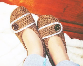 Crochet Slippers / Woman Shoes /Unique Gifts-Woman Sizes