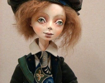 OOAK Art Doll BEST FRIENDS