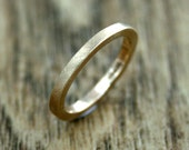 Simple Yellow Gold Wedding Ring, 9ct Recycled Gold, Alternative, Eco Wedding, Ethical