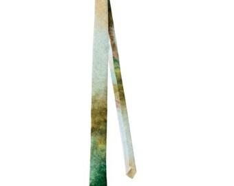 Fabulous Earth Tones Abstract Men's Neck Tie