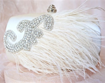 Ivory Clutch,Ivory Satin Clutch,Ivory Feather Clutch,Ivory Bridal Clutch,Ivory Wedding Clutch,Ivory Hard Case Clutch,Ivory Purse