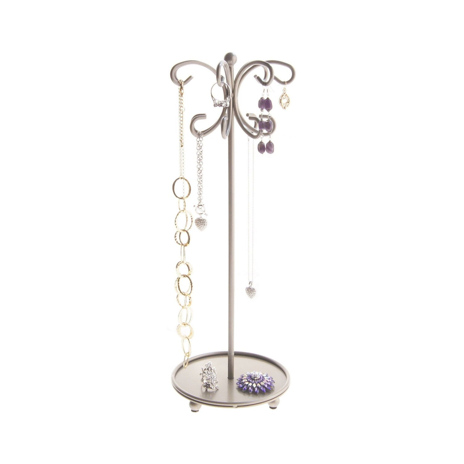 necklace holder stand jewelry organizer hanging necklace tree