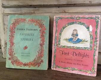 Tasha Tudor Hardcover Childrens Books Illustrated by Tasha Tudor Set of 2