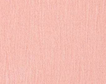 2 yds Island Breeze Gauze in Blush Pink