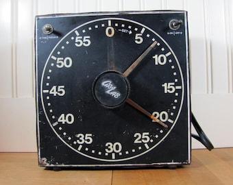 1950's Darkroom Timer, Darkroom, Timer, Steampunk, Clock, Photography, 1950's, Gra-Lab, Darkroom Equipment, Photography Equipment, Large