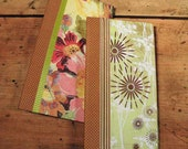 Scrapbook Album - For Instagram or Wallet photos, Waterfall style, SET OF TWO