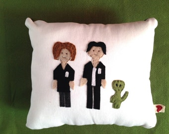 X-Files Inspired Pillow