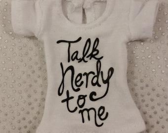 Blythe Talk Nerdy T-shirt