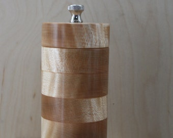 Pepper Mill, Grinder, Silver Maple