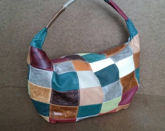 Retro Leather Bag, Women Bag, Retro Purse, Unique Handbags, Handmade Leather Handbag, Gift for Mom, Rosses