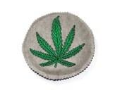 Cat Toys - Catnip Marijuana Leaf