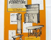 "25% Off Storewide Sale 1983 ""How To Build Period Country Furniture"" Book With Full Working Drawings Projects More"
